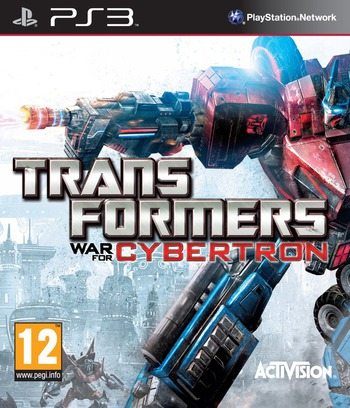 Transformers: War for Cybertron PS3 coverM (BLES00833)