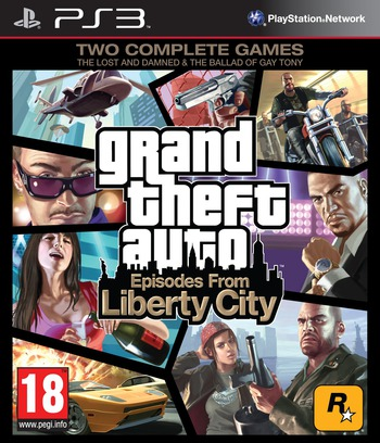 Grand Theft Auto: Episodes from Liberty City PS3 coverM (BLES00887)