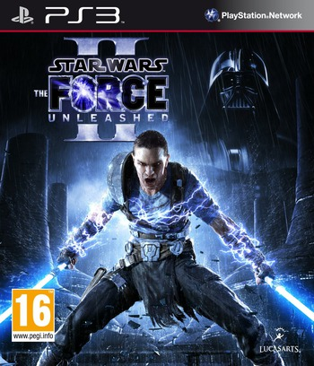 Star Wars: The Force Unleashed II PS3 coverM (BLES00893)