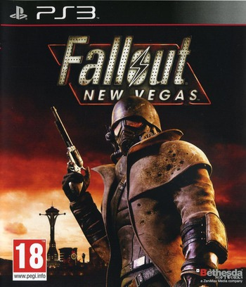 Fallout: New Vegas PS3 coverM (BLES00901)