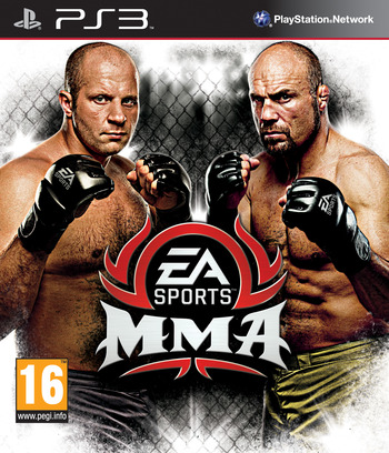 EA Sports MMA PS3 coverM (BLES00987)