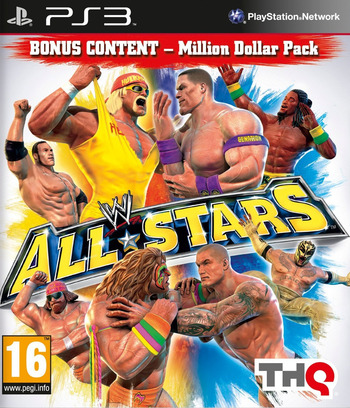 WWE All Stars PS3 coverM (BLES00995)