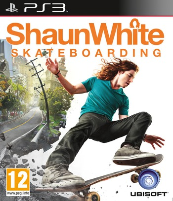 Shaun White Skateboarding PS3 coverM (BLES01003)