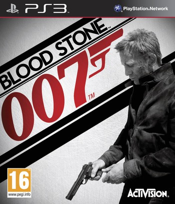 James Bond 007: Blood Stone PS3 coverM (BLES01017)