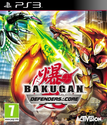 Bakugan: Defenders of the Core PS3 coverM (BLES01036)