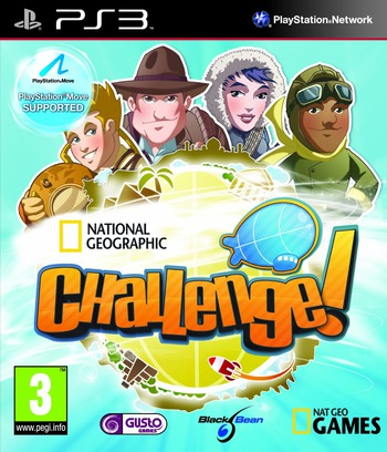 National Geographic Challenge! PS3 coverM (BLES01037)