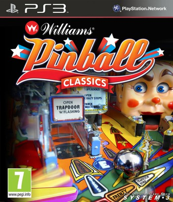 Williams Pinball Classics PS3 coverM (BLES01051)