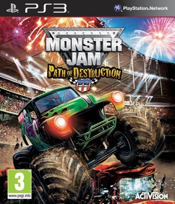 Monster Jam: Path of Destruction PS3 coverM (BLES01079)
