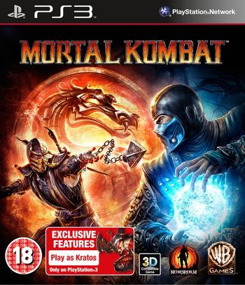 Mortal Kombat PS3 coverM (BLES01132)