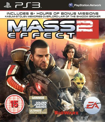 Mass Effect 2 PS3 coverM (BLES01133)