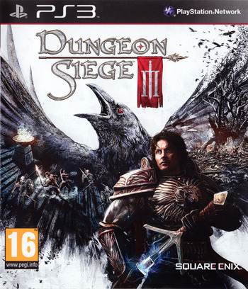 Dungeon Siege III PS3 coverM (BLES01161)