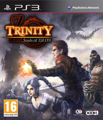 Trinity: Souls of Zill O'll PS3 coverM (BLES01184)