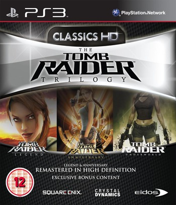 The Tomb Raider Trilogy PS3 coverM (BLES01195)