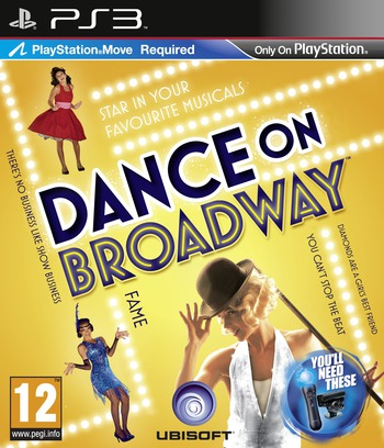 Dance on Broadway PS3 coverM (BLES01233)