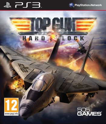 Top Gun: Hard Lock PS3 coverM (BLES01237)