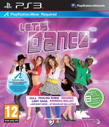 Let's Dance with Mel B PS3 coverM (BLES01268)
