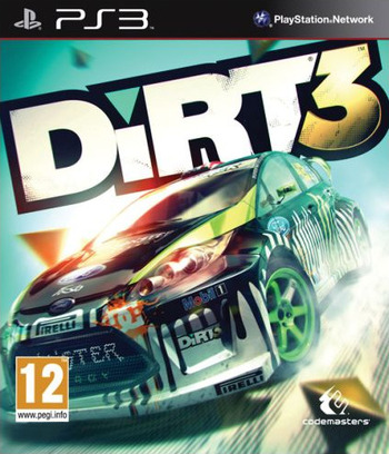 Colin McRae: DiRT 3 PS3 coverM (BLES01287)