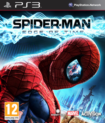 Spider-Man: Edge of Time PS3 coverM (BLES01291)