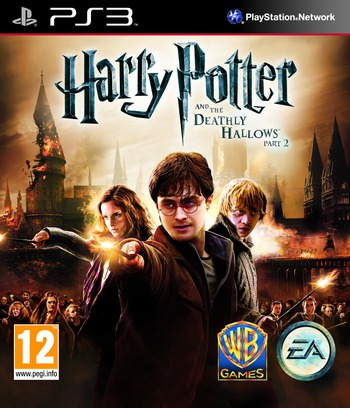 Harry Potter and the Deathly Hallows - Part 2 PS3 coverM (BLES01307)