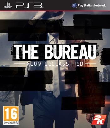 The Bureau: XCOM Declassified PS3 coverM (BLES01322)