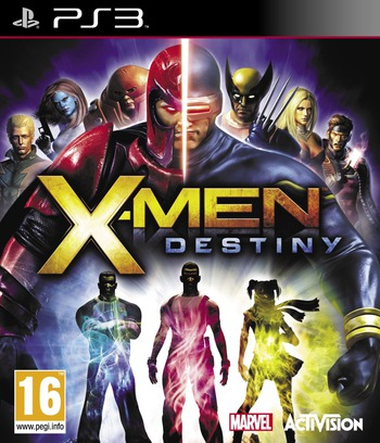 X-Men: Destiny PS3 coverM (BLES01351)