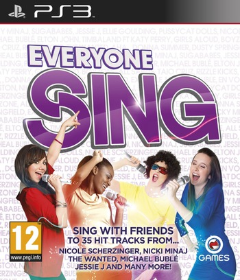 Everyone Sing PS3 coverM (BLES01383)