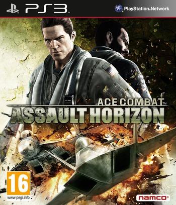 Ace Combat: Assault Horizon PS3 coverM (BLES01392)