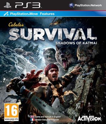 Cabela's Survival: Shadows of Katmai PS3 coverM (BLES01412)