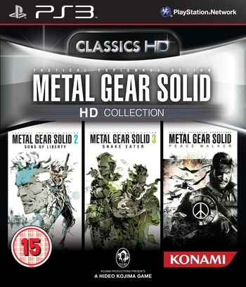 Metal Gear Solid: HD Collection PS3 coverM (BLES01419)