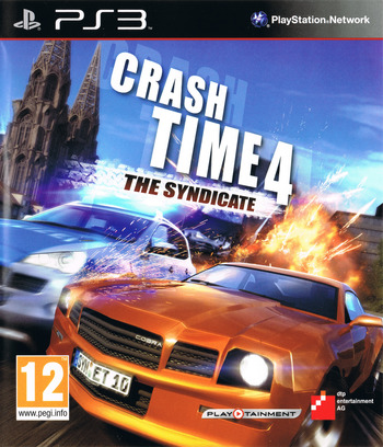 Crash Time 4: The Syndicate PS3 coverM (BLES01427)