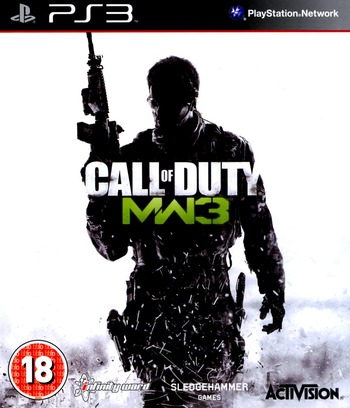 Call of Duty: Modern Warfare 3 PS3 coverM (BLES01432)