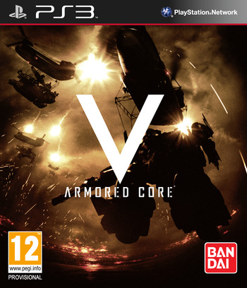 Armored Core: V PS3 coverM (BLES01440)