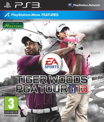 Tiger Woods PGA Tour 13 PS3 coverM (BLES01445)