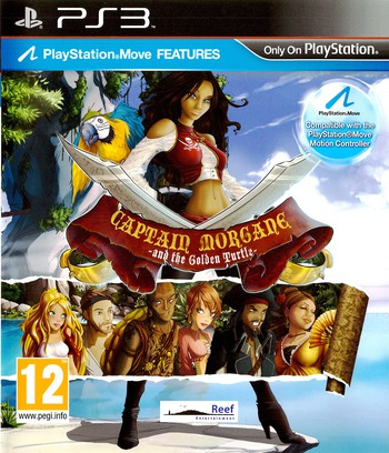 Captain Morgane and the Golden Turtle PS3 coverM (BLES01463)
