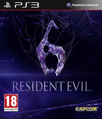 Resident Evil 6 PS3 coverM (BLES01465)
