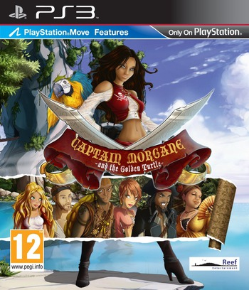 Captain Morgane and the Golden Turtle PS3 coverM (BLES01512)
