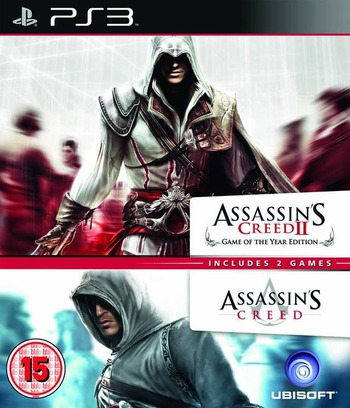Assassin's Creed Double Pack PS3 coverM (BLES01582)