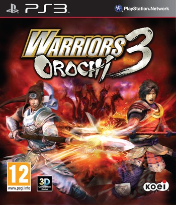 Warriors Orochi 3 PS3 coverM (BLES01588)