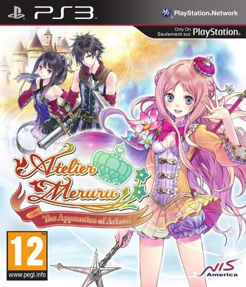 Atelier Meruru: The Apprentice of Arland PS3 coverM (BLES01593)