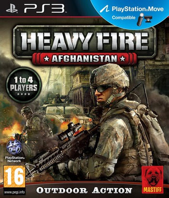 Heavy Fire: Afghanistan PS3 coverM (BLES01602)