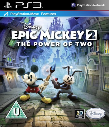 Disney Epic Mickey 2: The Power of Two PS3 coverM (BLES01627)