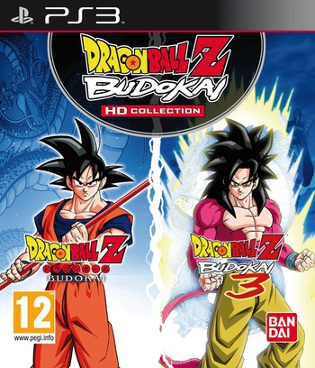 Dragon Ball Z Budokai HD Collection PS3 coverM (BLES01658)