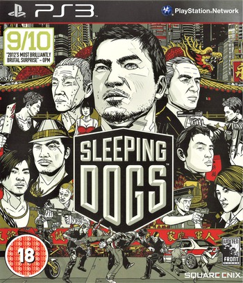 Sleeping Dogs PS3 coverM (BLES01661)