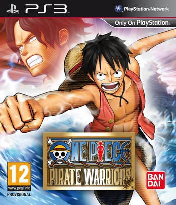 One Piece: Pirate Warriors PS3 coverM (BLES01672)