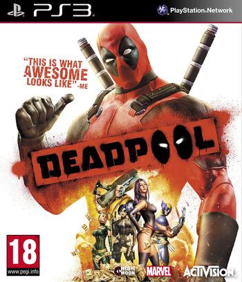 Deadpool PS3 coverM (BLES01789)