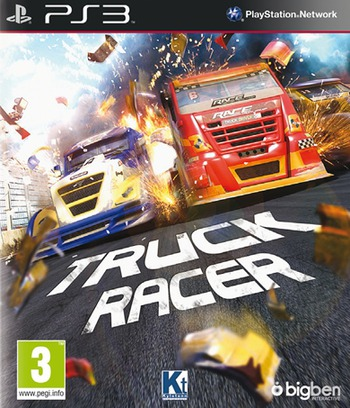 Truck Racer PS3 coverM (BLES01798)