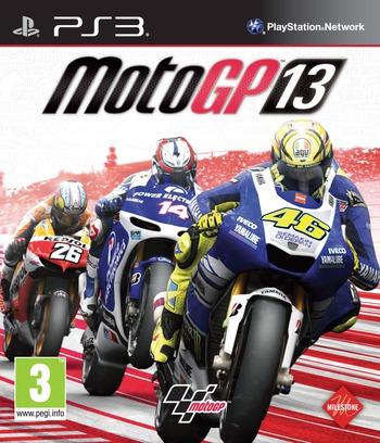 MotoGP 13 PS3 coverM (BLES01805)