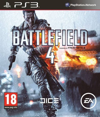 Battlefield 4 PS3 coverM (BLES01832)