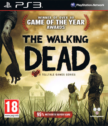The Walking Dead: A Telltale Games Series PS3 coverM (BLES01833)