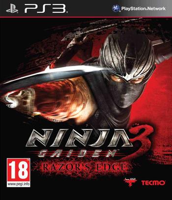 Ninja Gaiden 3:Razor's Edge PS3 coverM (BLES01845)